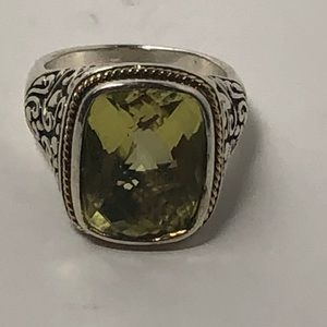 Jewelry - 100% authentic Peridot Ring